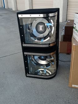 Subwoofer Box For Car By Dual for Sale in Carson,  CA