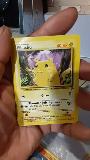 Pikachu Pokemon card for Sale in Philadelphia, PA
