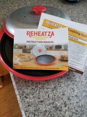 ReHeatza Microwave Crisper for Sale in Mount Joy, PA