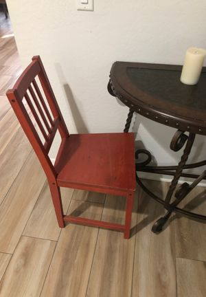 Wooden chair for back to school for Sale in Chandler, AZ