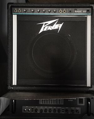 Bass amplifier/ amplificador para bajo for Sale in Los Angeles, CA