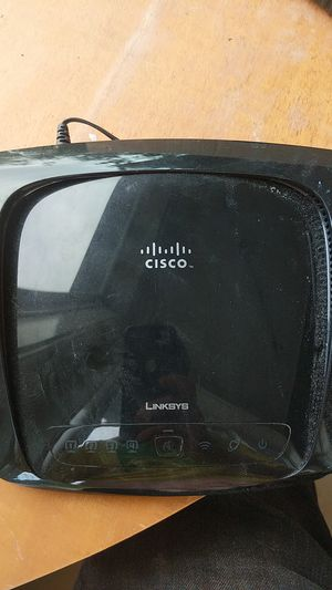 Cisco Linksys Wireless-N Broadband Router for Sale in Seattle, WA