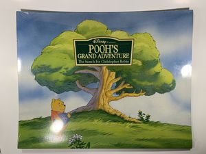 The Disney Store 1997 exclusive Lithograph Portfolio- Winnie the Pooh 4 lithos featuring Art from Pooh's Grand Adventure World Premiere on Video, Aug for Sale in Attleboro, MA
