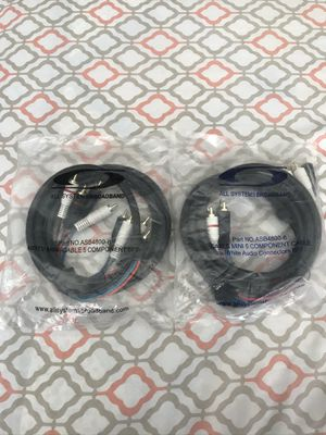 CABLE MINI 5 COMPONENT CABLE (6ft.) for Sale in Hemet, CA