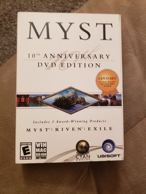 Myst 10th Anniversary DVD Edition for Sale in Delaware, OH