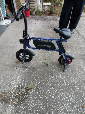 Electric Swag bicycle like new for Sale in Valrico, FL