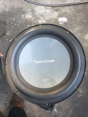 Punch subwoofer for Sale in Riverdale, MD