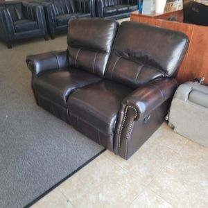 Leather Love Seat for Sale in Riverside, CA