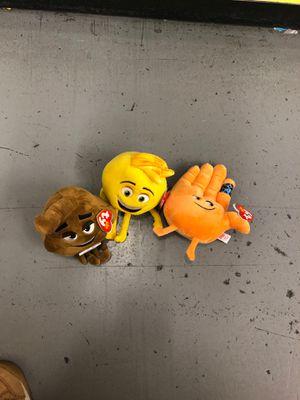 emoji movie plush for Sale in Houston, TX