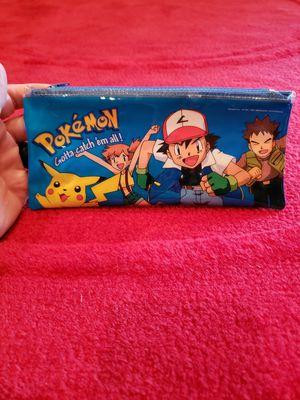 Pokemon Pencil Pouch for Sale in Spanaway, WA