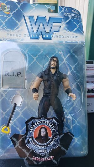 WWE ACTION FIGURE COLLECTIBLE UNDERTAKER 1998 PICK UP IN WHITTIER for Sale in Whittier, CA