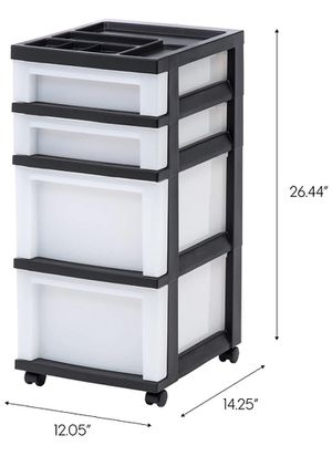 4 Drawer Storage with Organizer Top for Sale in San Diego, CA
