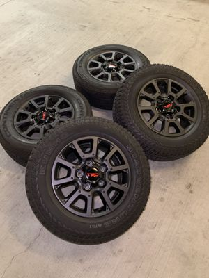 Tundra TRD 2019 Wheels Rims Rines Tires OEM Factory Off-road Tires for Sale in Los Angeles, CA