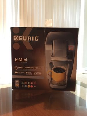 KEURIG KMini K-Mini compact coffee machine maker grey gray platinum for Sale in Silver Spring, MD