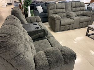 Sofa Take it home today love Sectional 4 Recliner So comfortable for Sale in Madera, CA