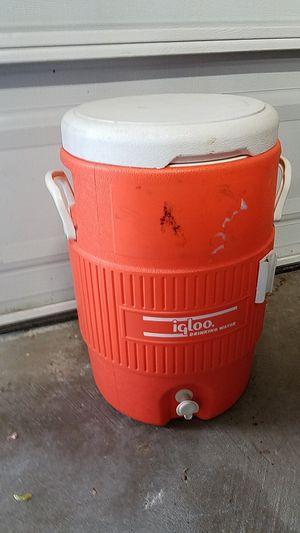 Cooler (Igloo- drinking water) for Sale in Virginia Beach, VA