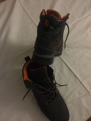 Work boots (Tim. PRO steel toe) for Sale in Mesa, AZ