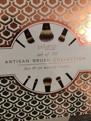 Artisan Brush Collection Set of 10 for Sale in North Tustin, CA
