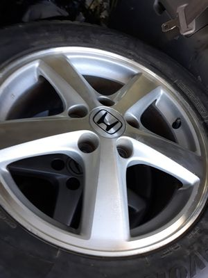 Honda OEM 16 Inch Rims and Tires for Sale in Riverside, CA