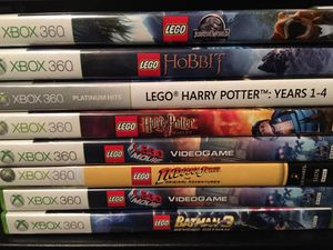"Xbox 360. Lego games. Several different ones ""make offer"" for Sale in Stuart, FL"