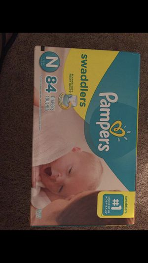 Newborn pampers for Sale in Philadelphia, PA
