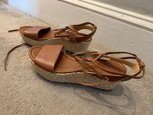 Michael Kors scrappy lace up sandals size 9 1/2 for Sale in Washington, DC