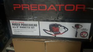 auger powerhead with 6 inch diameter bit for Sale in Matteson, IL