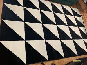 Black & White Modern Rug for Sale in Seattle, WA