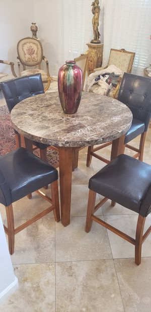 Breakfast table and chairs, French 3 pc sofa and chairs for Sale in Escondido, CA