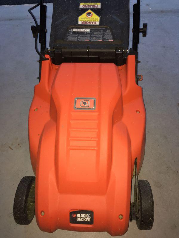 Black & Decker Lawn Mower (12Amp) Electric