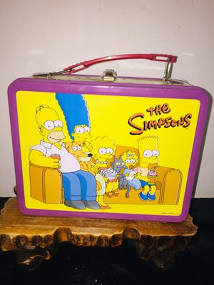 The Simpsons 2002 NECA Lunch Box With Thermos for Sale in Garland, TX