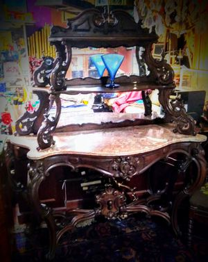 Antique Victorian Entry Side Table c. 1880 for Sale in Las Vegas, NV