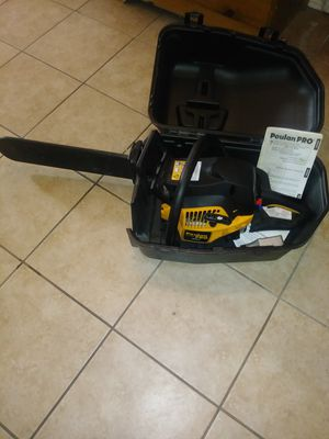 Gas chainsaw for Sale in West Valley City, UT