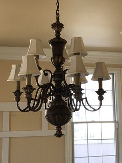 Chandelier And 3 Wall Lamps for Sale in Evergreen Park,  IL