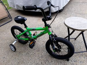 14 in Tony Hawk bicycle with training wheels for kids all bikes sold as is for Sale in Woodbridge, VA