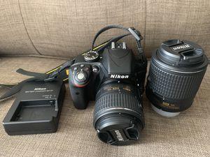 Nikon D3300 like new for Sale in Arlington, VA