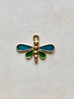 Gold Dragonfly Pendent for Sale in Kingston, MA
