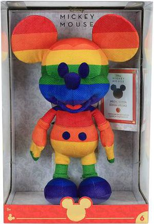 PRIDE Rainbow Mickey Mouse | Disney Year of The Mouse Collector Plush for Sale in New York, NY