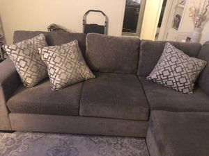 Grey sectional couches for Sale in Fresno, CA