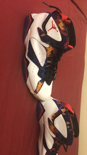 "Air Jordan 7s ""Nothing But Net"" or ""Sweater 7s"" for Sale in Frederick, MD"