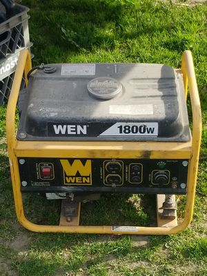 Wen generator $100 for Sale in Fresno, CA