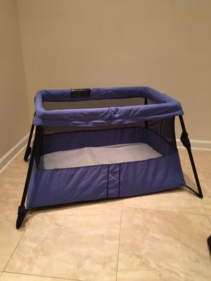 Used, Baby Bjorn travel folding crib. Gently used for sale  great condition! for Sale