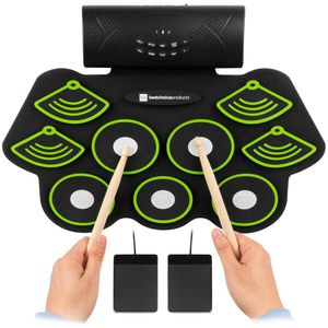 Electronic Drum Set Bluetooth Roll Up Portable Pad Kit for Sale in Lake View Terrace, CA