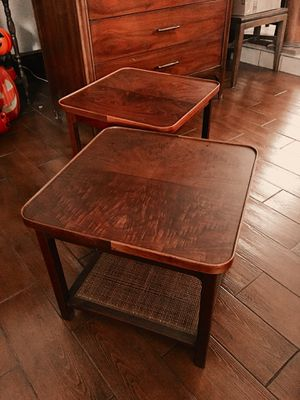 Vintage Mid Century Side tables end tables for Sale in El Paso, TX