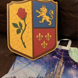 Disney Parks, Foam Beauty & Beast Shield, Brand New for Sale in New Port Richey, FL