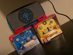 Nintendo controllers and games for Sale in Henderson, NV