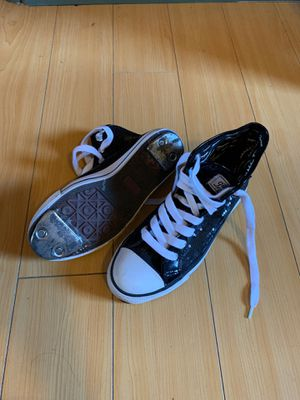 Gotta Flurt Black Sequined Converse Tap Shoes for Sale in Los Angeles, CA