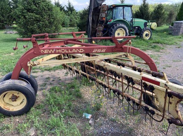 Hay rake 256 dolly wheel