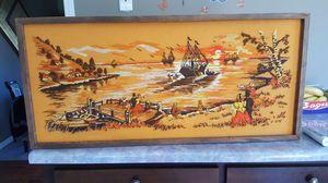 Vintage handmade stiched picture for Sale in Harrisonburg, VA