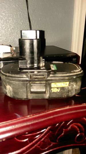 DEWALT 18V BATTERY PACK NI-CD,FOR IMPACT,DRILL,SAW,ETC...,${link removed} for Sale in Mayfield, KY